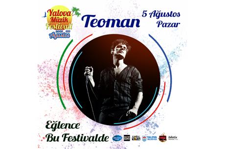 Yalova Müzik Festivali'nde Teoman Rüzgarı Esecek