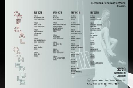 Mercedes-Benz Fashion Week İstanbul Etkinlik Takvimini Açıklandı