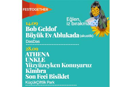 Kendi İçinde Yenilenen Sıfır Atık Hedefli Festival Festtogether Eylül'de