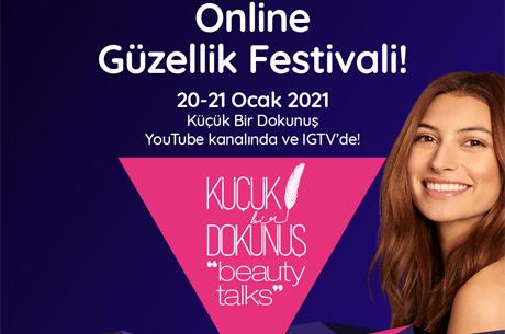 """Yılın İlk Güzellik Festivali """"Beauty Talks"""" 20-21 Ocak'ta Yayında!"""