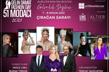 Gelin Damat Fashion Day 7- 8 Nisan`da  Çırağan`da Gerçekleşiyor