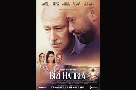 Çağan Irmak'tan ''Bizi Hatırla'' Sinema Filminin Afişi Yayınlandı
