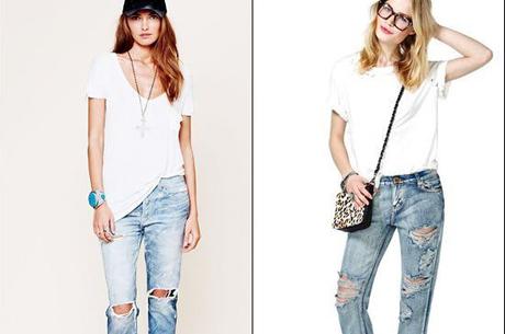Beyaz Tişört ve Jean İkilisi Nasıl Giyilir?
