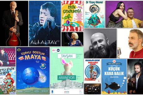 İBB'nin Ücretsiz Tiyatro ve Konserleri Devam Ediyor
